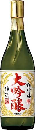 松竹梅 大吟酿 [ 日本酒 720毫升 ]