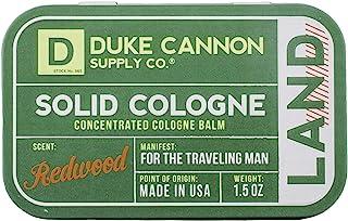 Duke Cannon 男士纯色 Cologne,1.5 盎司 Redwood 1.5 Ounces