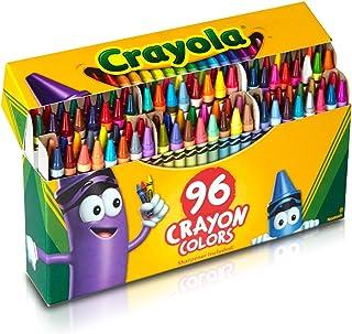 Crayola 绘画 蜡笔 96色 附带削笔刀 Crayon Colors 520096