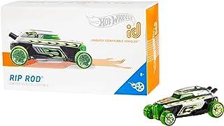 Hot Wheels iD FXB51 - 压铸汽车 1:64 Rip 杆带 NFC 芯片,用于在 Hot Wheels iD 应用程序中扫描,汽车玩具 8 岁以上