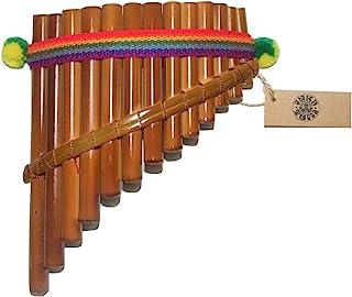 精美 InkaTumi 装饰 13 管弧形平底锅 - 秘鲁手工制造