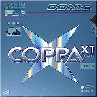 DONIC(唐尼克)乒乓球 coca X1 Ta-bou 里层软橡胶 黑色 MAX AL051