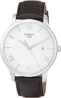 TISSOT 天梭 TRADITION GENT 系列 手表 T0636101603800,银色