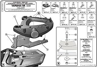 GIVI E228 Monokey Topcase 安装套件 - 雅马哈 FJR1300 (06-15)