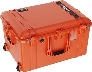 Pelican Air 1637 无泡沫手机壳(2020 版带按钮锁)- 橙色
