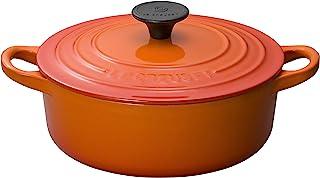 Le Creuset 酷彩 铸铁珐琅锅 Cocotte 经典系列 18 cm 橘色 可使用燃气&IH&烤箱