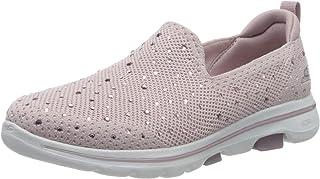 Skechers 斯凯奇 女士 Go Walk 5 -Limelight 一脚蹬运动鞋