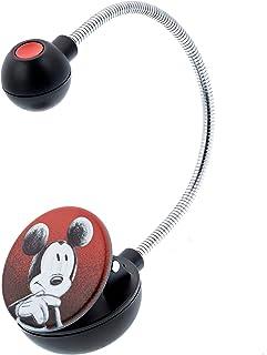 WITHit Disney 夹式书灯 �C 米奇素描 �C LED 阅读灯,减少眩光,便携,轻质书签灯,适合儿童和成人,含电池