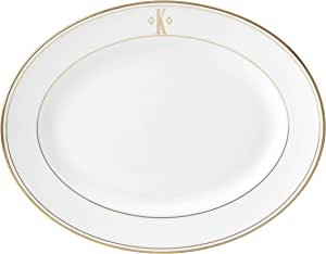 Lenox 联邦金块交织字母餐具 字母 K 874130