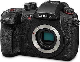 Panasonic 松下 LUMIX GH5S Body 4K 数码相机,10.2 百万像素无反相机带高灵敏度 MOS 传感器,C4K/4K UHD 4:2:2 10 位,3.2 英寸 LCD DC-GH5S (黑色)