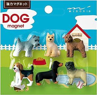 Midori 磁铁 迷你 6个装 犬