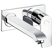 hansgrohe 汉斯格雅 Metris 暗装节水龙头 (喷嘴长度165mm,壁挂式),镀铬