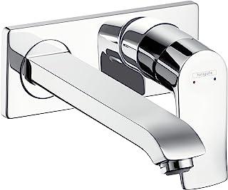 hansgrohe 汉斯格雅 Metris 暗装节水龙头(出水嘴高度225mm,壁挂式),镀铬
