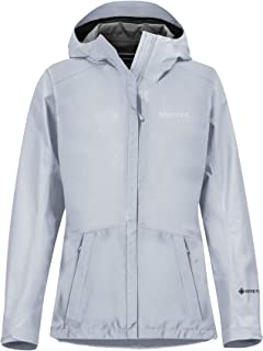Marmot 女式 Wm's 极简主义夹克,防水 GORE-TEX 夹克,轻质防雨夹克,防风雨衣,透气风衣,非常适合跑步和徒步