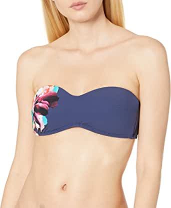 Kenneth Cole New York 女式抹胸文胸比基尼泳装上衣
