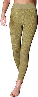 NIKIBIKI 女式无缝蛇形紧身裤,美国制造,均码