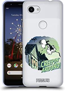 官方 Peanuts 史努比吸血鬼幽灵软凝胶保护套适用于 Google Pixel 3a