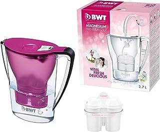BWT 德国智能计时免开盖净水壶滤水壶净水杯?1壶1芯 2.7L紫色