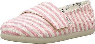 Paez 儿童经典苏蕾斯珊瑚色帆布鞋