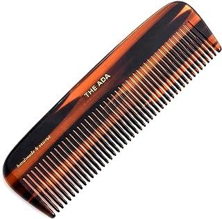 Kent 12T The Ada 限量版所有粗糙*顺发梳宽齿口袋梳,适用于浓密卷发波浪*。柔顺梳子用于梳理*、胡须和胡须。英国制造