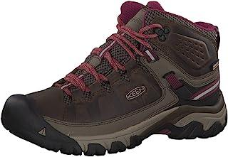 KEEN 女士 Targhee Iii Waterproof Mid 徒步旅行鞋和步行鞋
