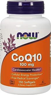 NOW Foods Coq10 100毫克软胶囊 150 150