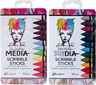 Ranger - Dina Wakley Media - 涂鸦棒 - 2017 和 2018 发行套装