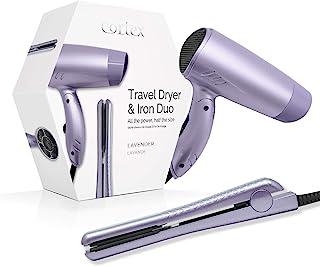 Cortex 国际旅行吹风机和铁双层优质夏季旅行套装