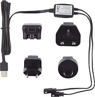 Hestra USB 电池充电器和适配器电缆加热手套