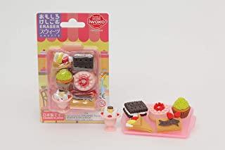 Iwako 日本橡皮擦套装 - 甜点组合 多色