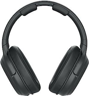 Sony 索尼 WH-L600 环绕式无线耳机(无线,适用于电视,运动,游戏和音乐,范围可达 30 米,影院模式,长达 17 小时电池续航时间)黑色