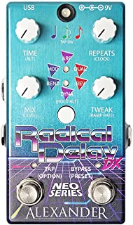 Alexander Pedals 导线踏板吉他效果器 延迟 Radical Delay DX