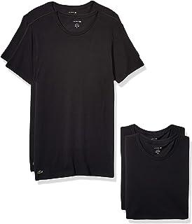 LACOSTE 鳄鱼 男式弹力修身圆领 T 恤,3 件装
