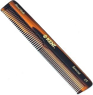 "Kent 2T 6"" 158mm 手工制作粗齿/精细通用梳。 锯切 每包6条"