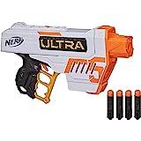 NERF Ultra Five Blaster -- 4 发弹内部夹,4 颗*飞镖,飞镖存放 -- 仅兼容*飞镖