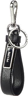 Prada 普拉达 Saffiano 钥匙圈 钥匙扣 皮革 真皮 2PP709 053