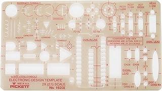 Pickett 电子设计模板,1 件 (1623I)