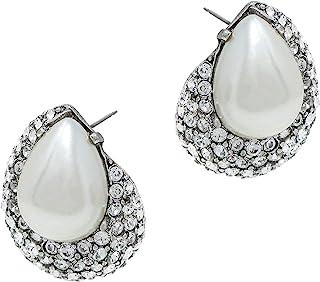 Ben-Amun Jewelry 泪珠珍珠施华洛世奇水晶耳钉
