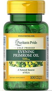 Puritan's Pride 月见草油 500 毫克 含gla-100 软胶囊