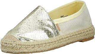 ONLY 女士 Onleva-9 结构混合帆布鞋