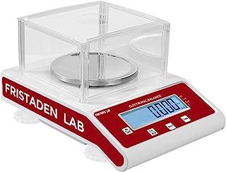 Fristaden Lab 精确分析千克平衡 200 克 x 1 毫克 | 测量克、克拉、千克 | 0.001 克 (1mg) 精密电子科学秤适用于实验室、珠宝等