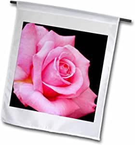 鲜花–粉色玫瑰–旗帜 12 x 18 inch Garden Flag