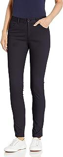 Classroom School Uniforms 女式 5 口袋弹力紧身裤