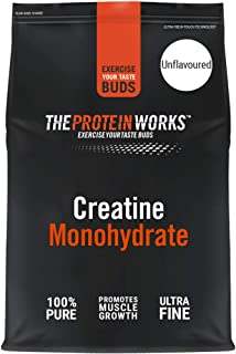 The Protein Works Creatine Monohydrate Powder, Unflavoured, 250 g