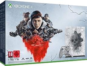 Microsoft Xbox One X RF无线 AZERTY 法文 黑色 Gears 5 Limited Edition Bundle