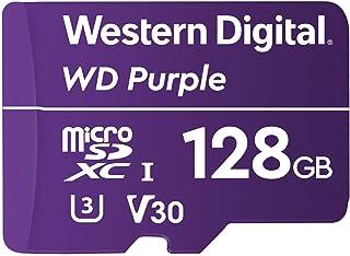 Western Digital 西部数据 WD Purple SC QD312 128GB microSDXC Extreme Endurance 100MB / 秒读写 UHS Speed Class 3 U3 视频速度等级 V30