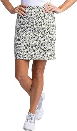 SLIM-SATION 女式高尔夫宽带套穿裙,带真实口袋