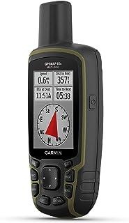 Garmin GPSMAP 65s,按钮式手持高仪和指南针,扩展卫星支持,多频技术和2.6英寸彩色显示屏