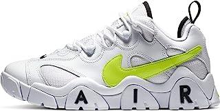 Nike 耐克 Air Barrage 男士低帮篮球鞋,Bianco 白色