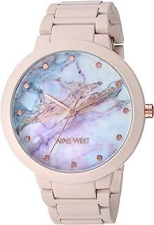 Nine West 女士橡胶手链手表